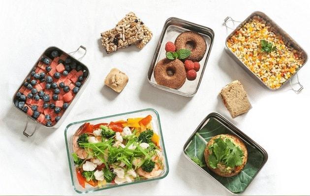 Сайт визитка для доставки еды